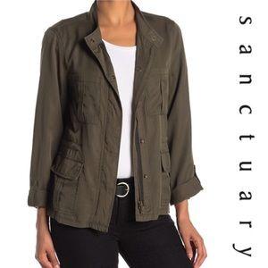 Sanctuary Military Jacket Sz XL